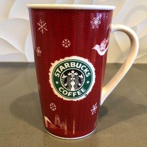 Starbucks Holiday 2008 Christmas Mug 16 0z